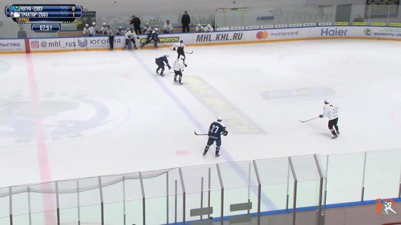 27 Yuri Zuenko Yugra highlights against Traktor