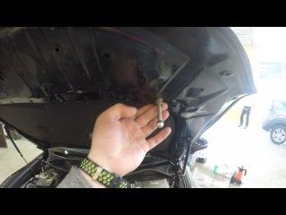 Защита от угона Toyota Crown - Замки капота
