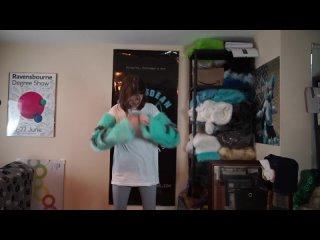 [Yoka] HOW TO WEAR: Coral - Manokit Fursuit (Fursuit Suit Up Video)