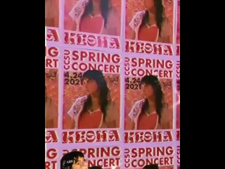 CCSU Kesha posters