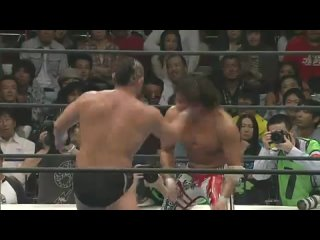 Hiroshi Tanahashi (c) vs. Minoru Suzuki -  (NJPW 40th Anniversary King Of Pro-Wrestling)