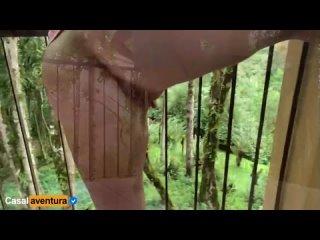 Анальный секс милфы на балконе в тропическом отеле [порно, ебля, инцест, минет, трах,секс,измена]