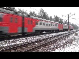 Казанское направление железной дороги считается одним из самым загруженных направлений..mp4