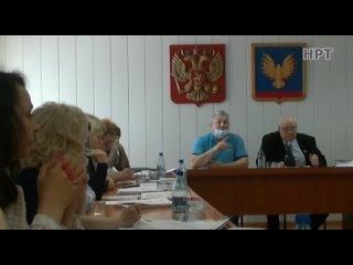НРТ Новости Сессия районного Совета депутатов