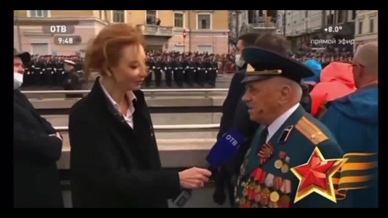 Журналистка из Владивостока прервала речь ветерана на параде увидев губернатора NR