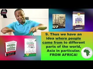 Episode 10. 2019-08-02. AFRICAN ROOTS OF THE MONGOLOID RACE. ARE BLACK AFRICAN PEOPLE CURSED
