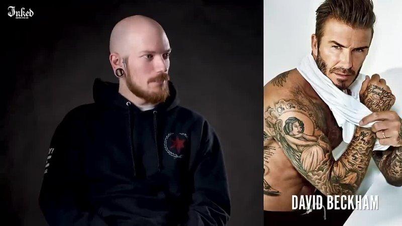 [Береги Глаза] Тату-художники реагируют на татуировки спортсменов(Конор Макгрегор, Майк Тайсон, Дэвид Бекхэм)
