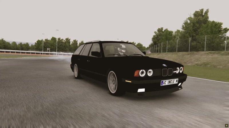 BMW M5 E34 СУПЕР ДРИФТ ТАКОЕ ДАЖЕ НЕ МОГ СДЕЛАТЬ ЦАРЕГРАДЦЕВ