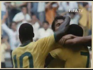 Все голы Бразилии на чемпионате мира 1970 года