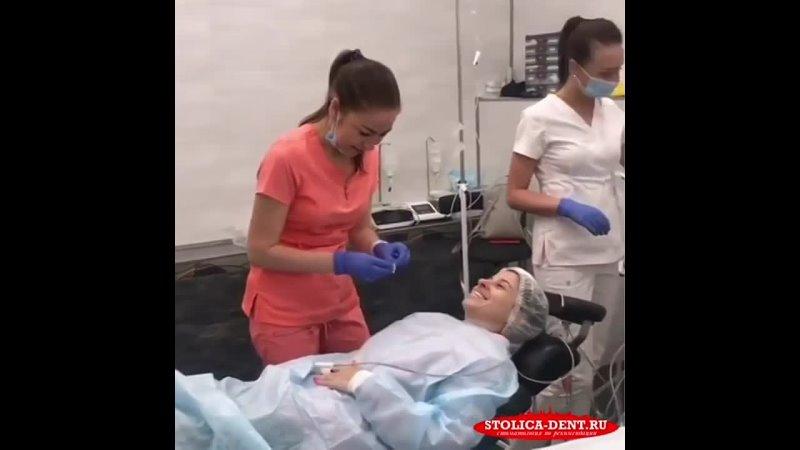 Подготовка к лечению во сне в стоматологии СТОЛИЦА