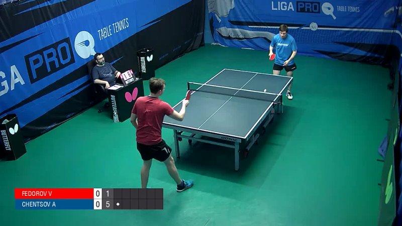 Александр Ченцов VS Владислав Фёдоров LIGA PRO г Москва турнир 24 03 21г