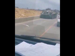 Еще одно жесткое ДТП с военной техникой в Крыму