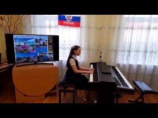 """Резанова Ханна """"Колыбельная"""" С.Майкапар"""