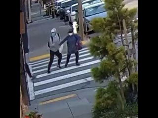 2 old Asian women attacked by blacks in broad daylight in San Francisco