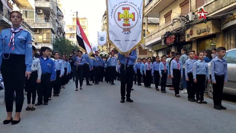 Христианская община Алеппо отметила день Георгия Победоносца