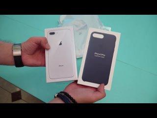 [] Обзор iPhone 8 Plus: примеры фото и распаковка нового айфона (review, unboxing)