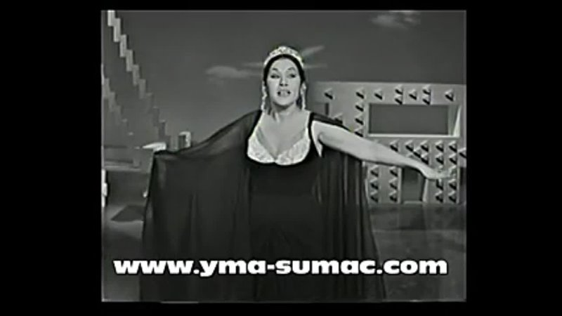 YMA SUMAC in Hollywood 1964 Inca Love Song Earthquake Tumpa completeOfficial Yma Sumac343