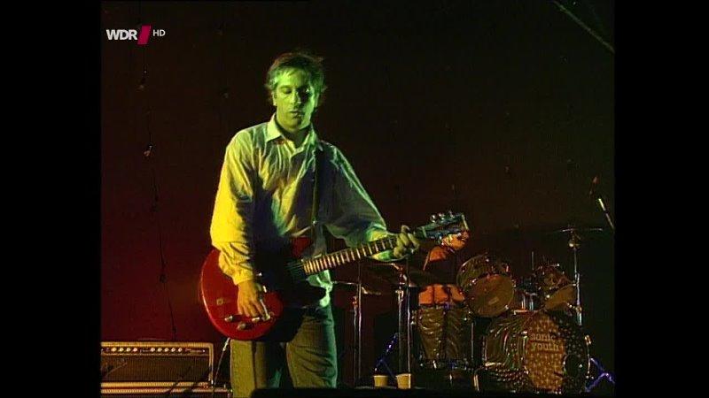 Sonic Youth Rockpalast Die Erste Oster Rocknacht Dusseldorf Philipshalle 07 04 1996