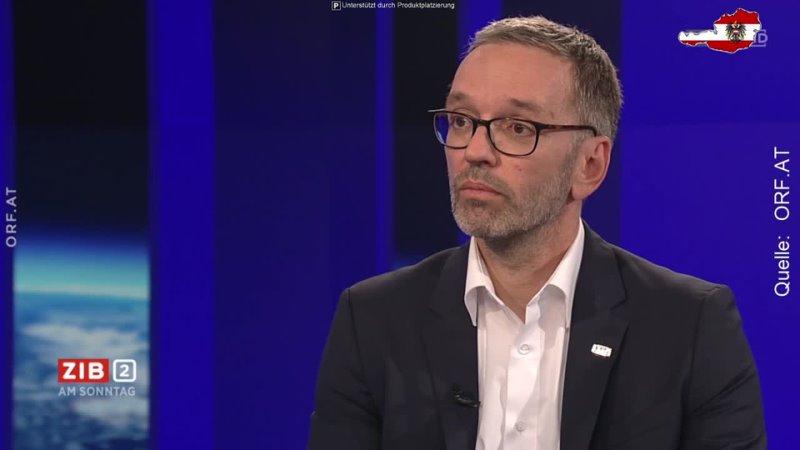 Herbert Kickl zerlegt ZIB2 Moderator Martin Thür