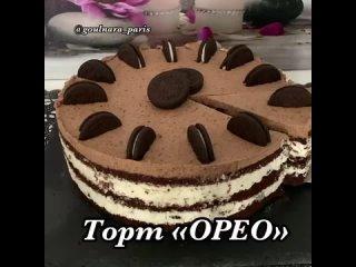 """Торт """"Орео"""". Рецепт. / Наша группа во ВКонтакте: """"ТОРТ-РЕЦЕПТ-VК""""."""