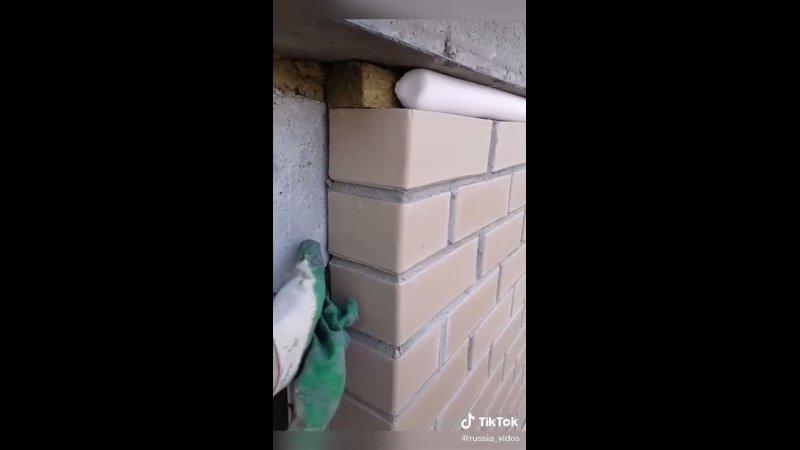 Некачественная кирпичная кладка на новом доме