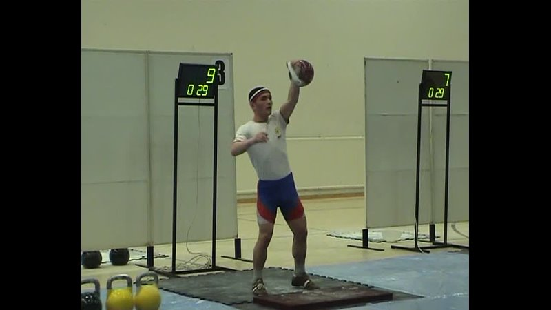 Джонни Бенидзе Рывок гири Чемпионат мира 2010