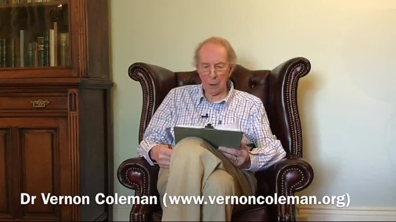 Dr Vernon Coleman-Zombie Apocalypse (The Covid Fraud Summarised in under 17 Minutes) (29th March 2021)