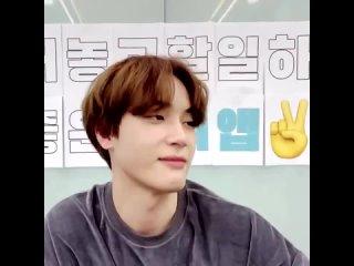 haknyeon jamming to « purple lamborghini » then claiming that it helps him fall asleep at night (2021)
