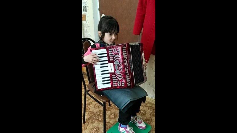 Первая мелодия Алисия 1 класс