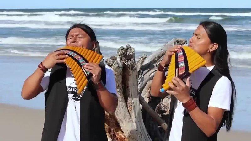 Красивая музыка на берегу моря
