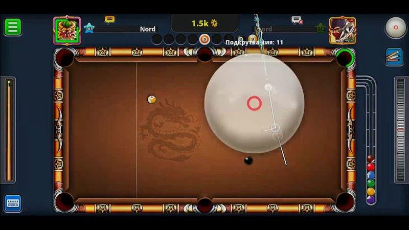 8 Ball Pool Difficult trick shots and kiss shots _ Невероятно сложные удары от бортов..mp4