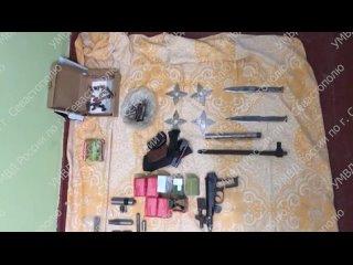 В Севастополе сотрудниками уголовного розыска задержан подозреваемый в незаконном изготовлении и хранении оружия и боеприпасов