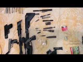 В Севастополе задержан подозреваемый в незаконном изготовлении и хранении оружия и боеприпасов