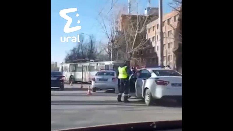 Авария на Таганской с троллейбусом