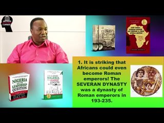 Episode 19. 2019-08-11. AFRICAN ROMAN EMPERORS. ARE BLACK AFRICAN PEOPLE CURSED