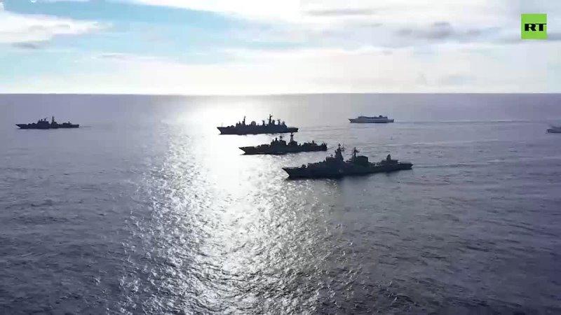 ТОФ вышел на учения в центральной части Тихого океана
