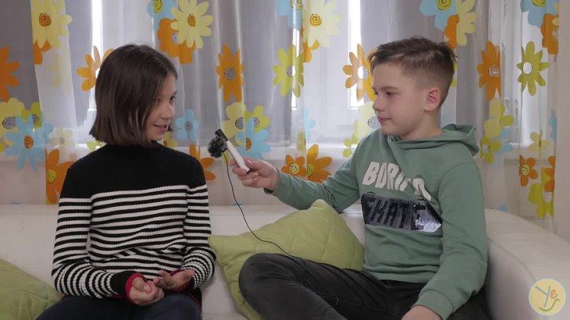 Веселое интервью о жизни ребят студии YES