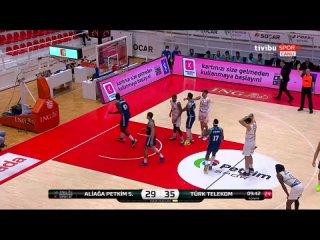 Aliağa Petkimspor - Türk Telekom 18.04.2021 @BasketbolArsivi