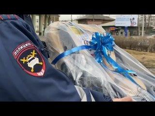 В Иркутске инспектора ДПС сопроводили роженицу в перинатальный центр