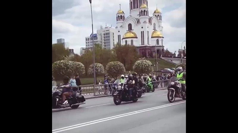 Екатеринбургские байкеры открыли сезон