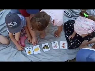 Интеллектуальные игры на природе ☀️#играемвмемо 👌⠀Напоминаем, что #monkeys_детскийсад работает в формате ЛЕТНЕГО ЛАГЕРЯ 🦋⠀3