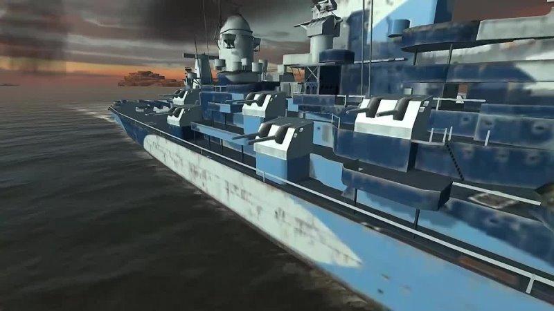 World of Warships Blitz RU World of Warships Blitz Школа Кораблей 6 Линкоры