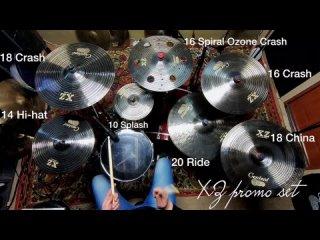 Centent cymbals XZ series B20 promo set