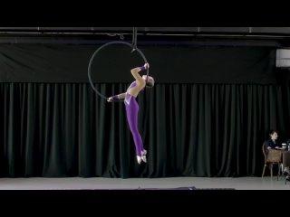 FLYDANCE. Dance Star Festival. Aerial hoop.