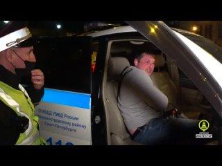 Инспекторы ДПС ОГИБДД по Василеостровскому району задержали нетрезвого водителя BMW