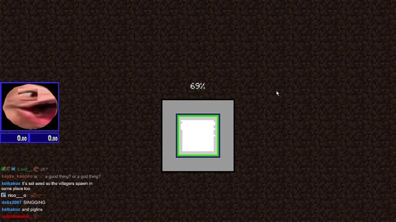 MagneticMaybe WORLD RECORD 2 09 967 Minecraft Set Seed Glitchless