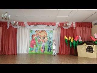 Русский народный стилизованный танец Золотая ярмарка
