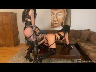 Mistress Damazonia Mistress Viper - Teaching a cuck bitch how to fuck (26.04.2021) 1080p