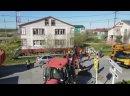 В Яр-Сале начался капитальный ремонт дороги по улице Советской