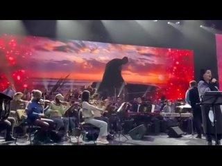 Тамара Гвердцители - репетиция, Минск